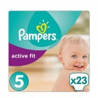 Pampers Active Fit Junior Midpack Maat 5 (23st)