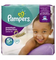 Pampers Active Fit Junior Value Bag Maat 5+ (37st)