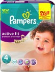 Pampers Active Fit Maxi 4 Luiers 43st