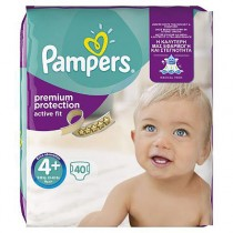 Pampers Active Fit Maxi Plus Value Bag Maat 4+ 40st