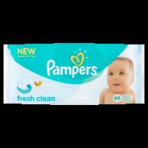Pampers Billendoekjes Fresh Clean Navulling 64doeken